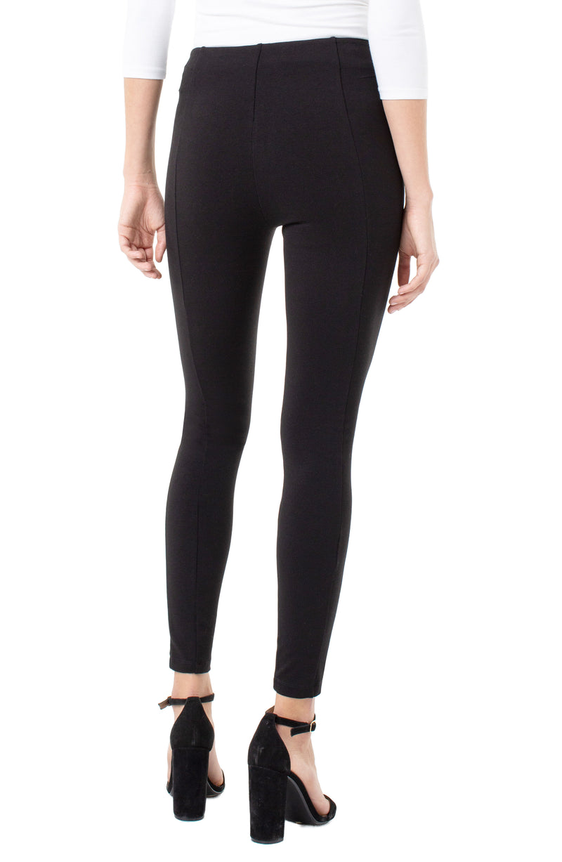 Liverpool Womens Reese Seamed Pull-On Legging