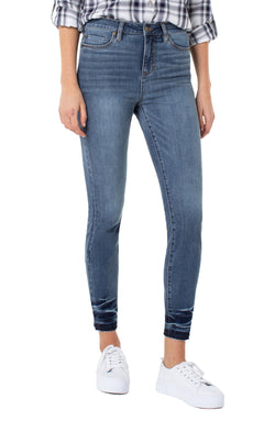 ABBY HI-RISE ANKLE SKINNY 4-WAY STRETCH CONTOUR
