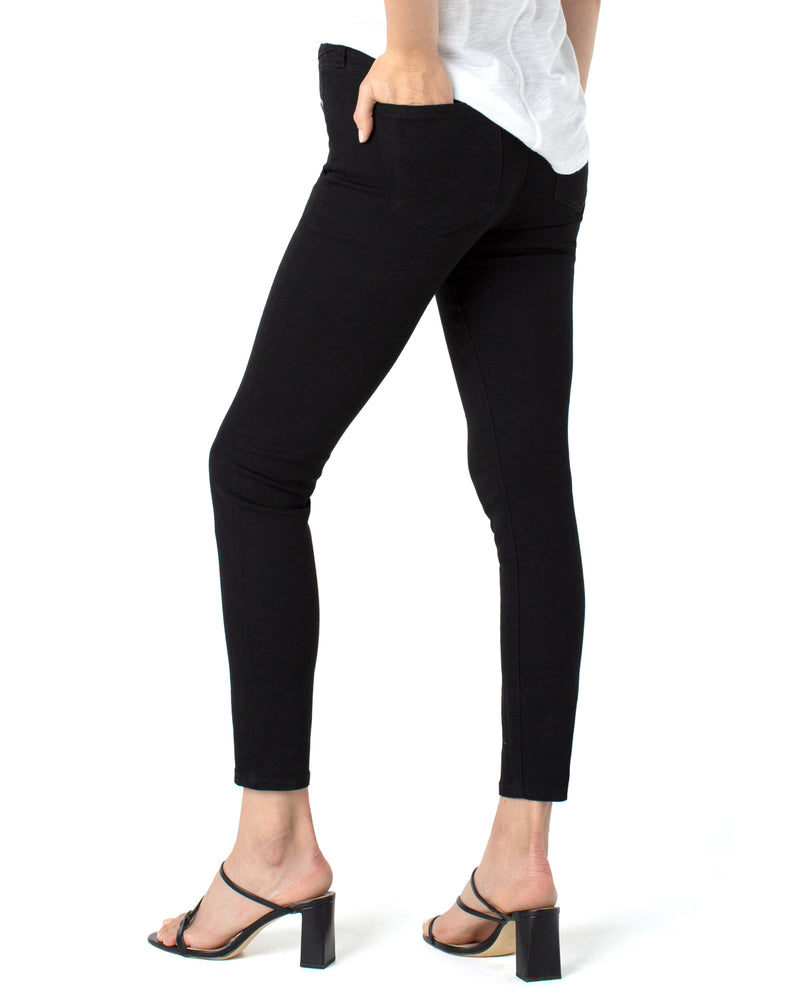 ABBY ANKLE SKINNY WITH EXPOSED BUTTONS ECO-4