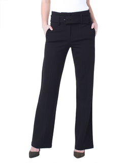 TAYLOR TROUSER BELTED HIGHRISE SUPER STRETCH PONTE