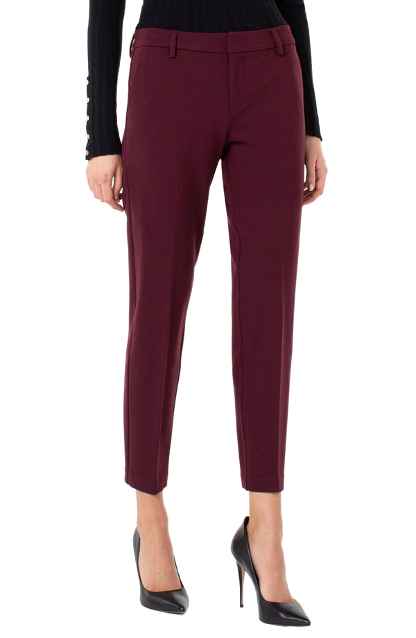 KELSEY KNIT TROUSER SUPER STRETCH PONTE