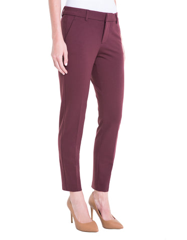 6d8c57312d PETITE KELSEY KNIT TROUSER SUPER STRETCH PONTE