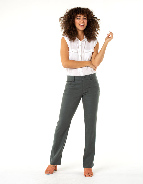 5-POCKET WIDE LEG