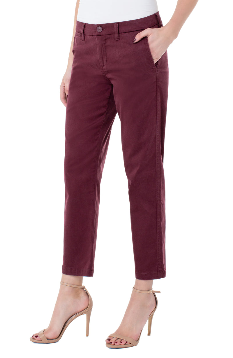 BOBBIE TROUSER SLASH POCKET