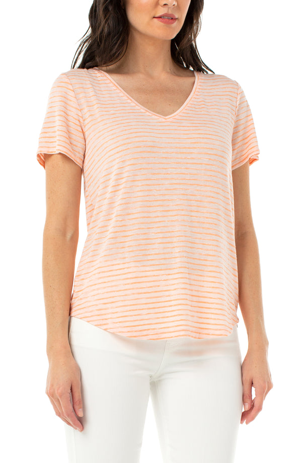 ORANGE MELON STRIPE
