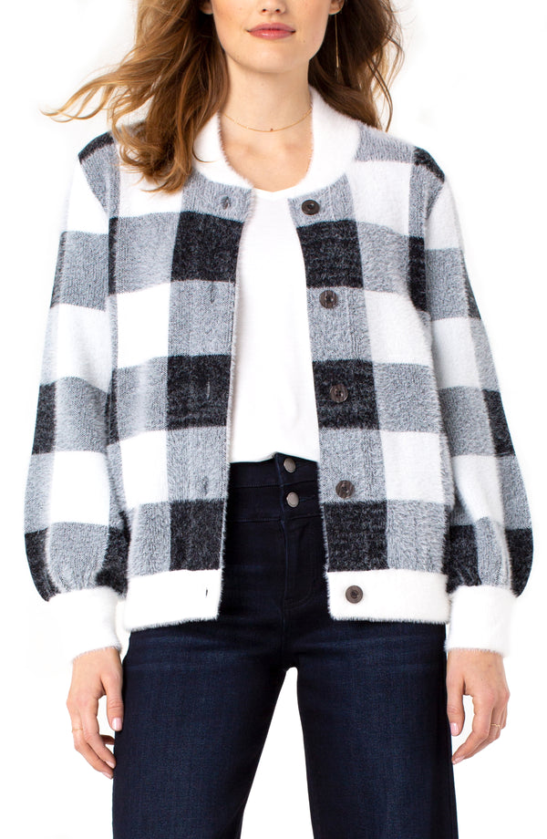 BLACK SNOW GREY CHECKER