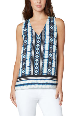 DIAMOND SHIBORI STRIPE PRINT-1