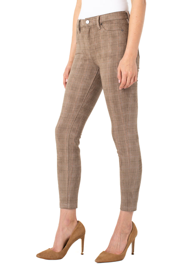 LIGHT TAN GLEN PLAID