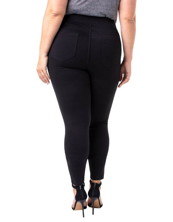 1674e359ea2b27 SIENNA PULL-ON LEGGING STRETCH PONTE. $96. BRIDGET HIGH WAIST ...