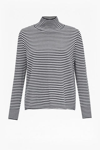 Great Plains UK high neck stripe pullover