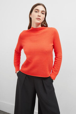 Great Plains UK bubble knit pullover