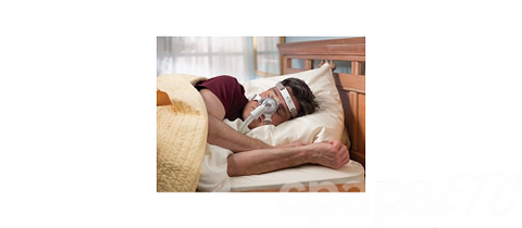 TrueBlue Nasal CPAP Mask with Headgear