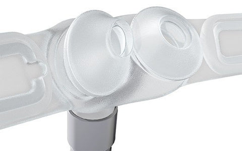 Swift™FX Bella Gray Nasal Pillow System with Headgear
