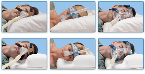 Contour CPAP Pillow with Cover
