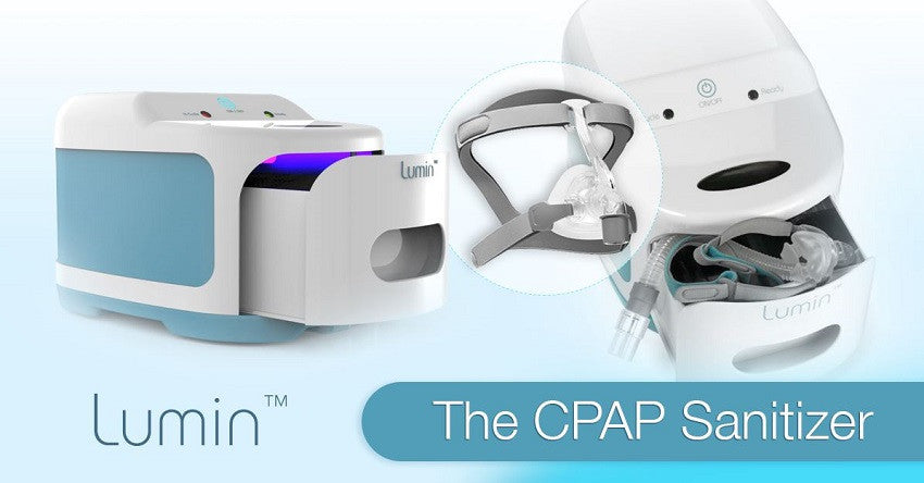 The Lumin CPAP Sanitizing System