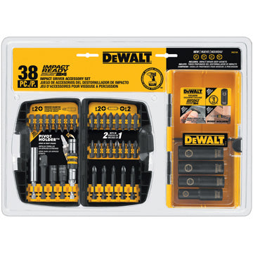 DeWalt 38pc Impact Ready Accessory Set