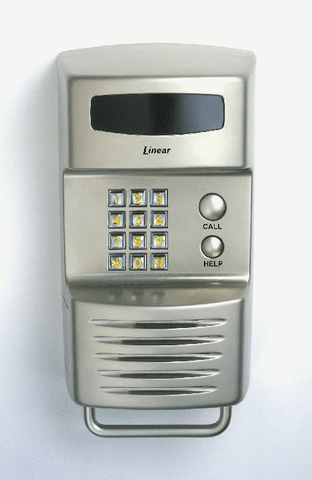 Linear RE-1 Residential Telephone Entry, Nickel Finish