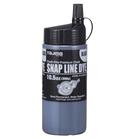 Snap-Line Dye Semi-Permanent Snap-Line Chalk, Black