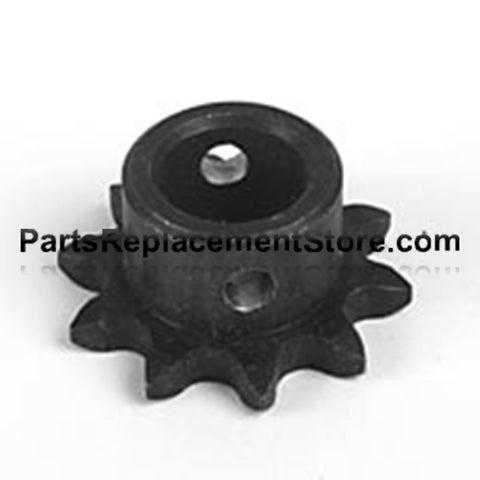 "Sprocket 65 Chain, 10 tooth, 3/4"" bore"