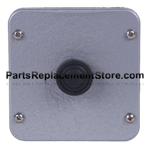 1BX EXTERIOR SINGLE BUTTON SURFACE MOUNT CONTROL STATION