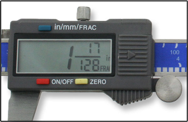 "6"" Fractional Digital Caliper"