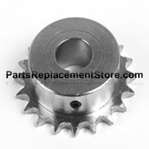 "Sprocket 24 tooth, 1"" bore, 1/4"" keyway 41B24"
