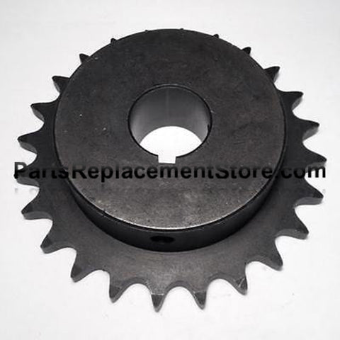"Sprocket 24 tooth, 1"" bore, 1/4"" keyway 50B24"