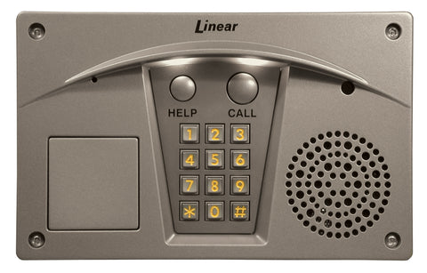 Linear RE-2 Residential Telephone Entry, Nickel Finish