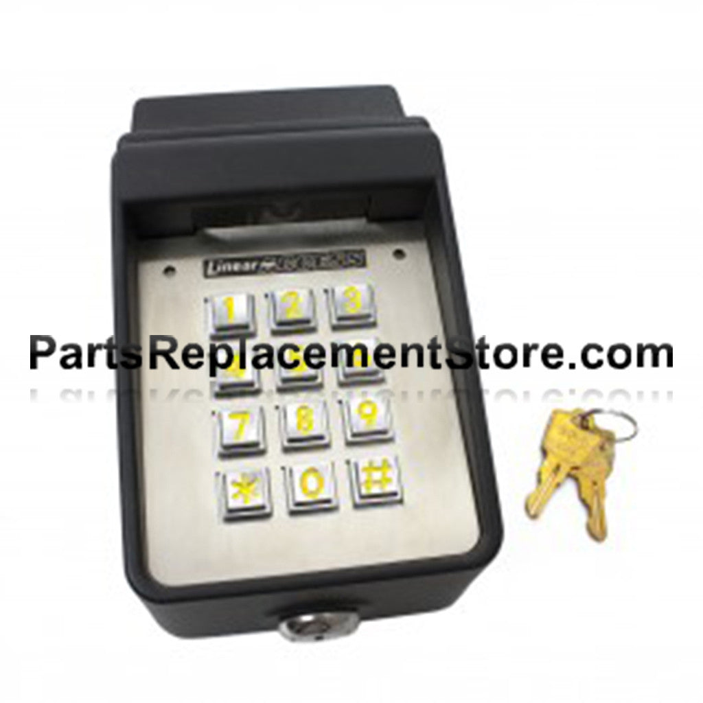 LINEAR AKR-1 EXTERIOR COMMERCIAL KEYPAD WITH RADIO ACP00747