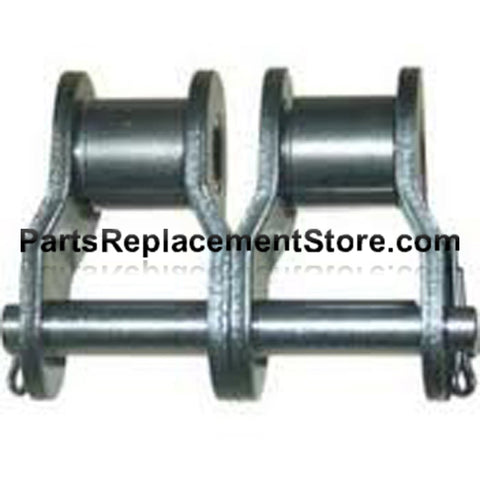 Roller Chain Half Links #41, Nickel Plated