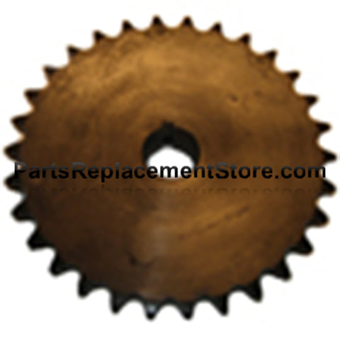 "Sprocket 30 tooth, 1-1/4"" bore, 1/4"" Keyway"