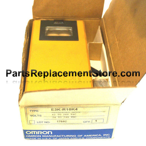 Omron E3K Retro-Reflective Industrial Photoelectric Controls