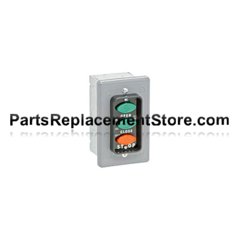 Flush Mount 3-Push Button LCE-3 Station