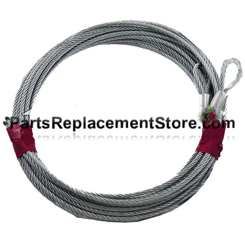 1/8 in 7 x 19 Extension Cable Assembly fits 7 ft high garage door