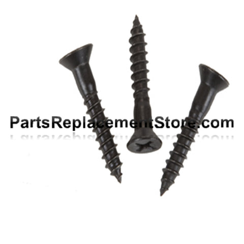 Black Stainless Steel Wood Screws (100)