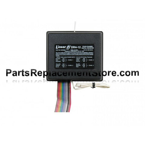 12 Volt Linear DRA-4 Receiver