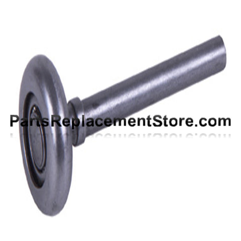 "2"" Steel Roller, Short Stem"