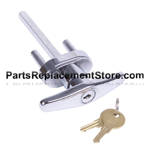 Keyed T Handle Set Keyed Alike