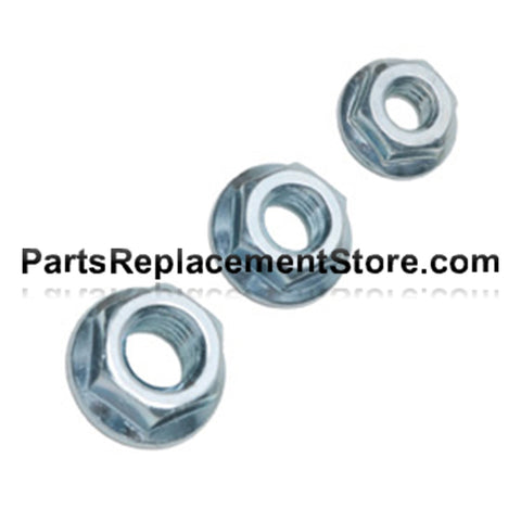 Flanged Nuts 3/8 in