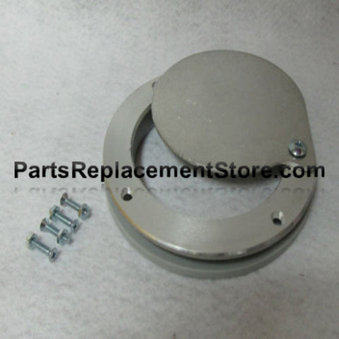 5 in. X 1/4 in. GARAGE DOOR NON LATCHING EXHAUST VENT