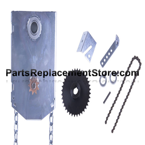 "J.R. Jackshaft Chain Hoist, 1 1/4"" Shaft"