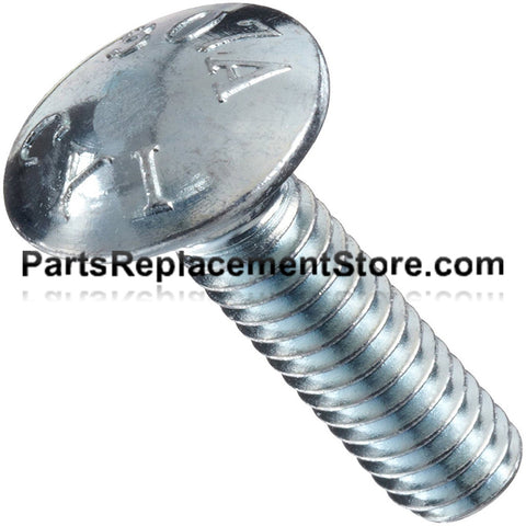Oval Head Carriage Bolts 5/16 in