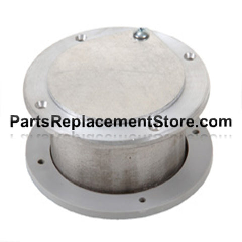 3 in. X 2 in. GARAGE DOOR NON LATCHING EXHAUST VENT