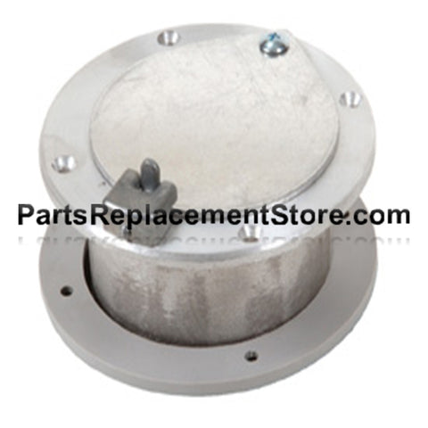 4 in. X 2 in. GARAGE DOOR LATCHING EXHAUST VENT