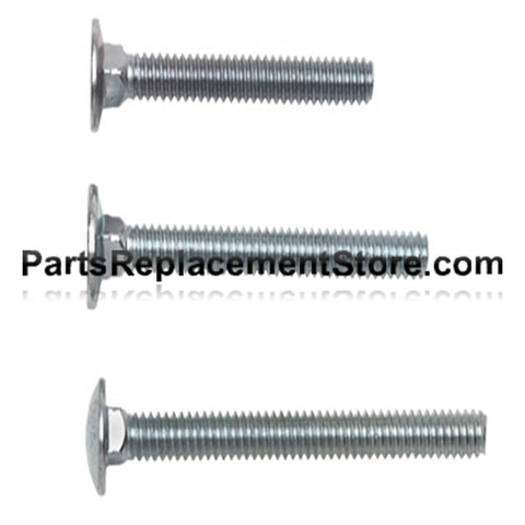Flat Head Carriage Bolts 2 1/4 in