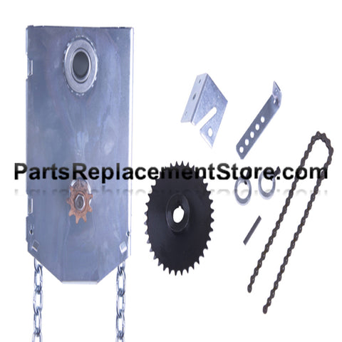 "J.R. Jackshaft Chain Hoist, 1"" Shaft"