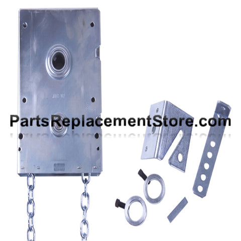 "J.R.G. Jackshaft Chain Hoist, 1"" Shaft"