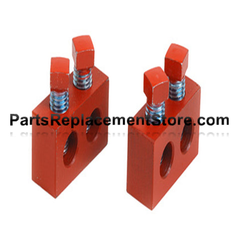 Spring Repair Blocks, Red
