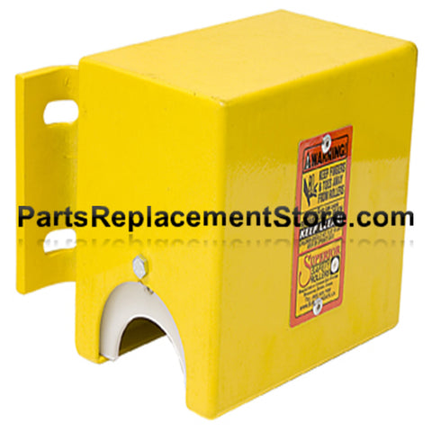 "Top Safety Roller for 4 1/2"" Round Supporting Post"