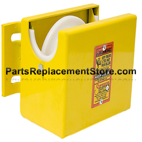 "Top Safety Roller for 4"" Round Supporting Post"